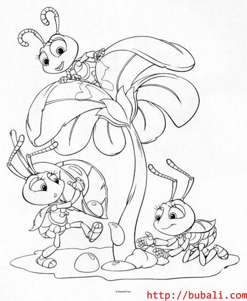 dibujos_para_colorear-bugs005bubali