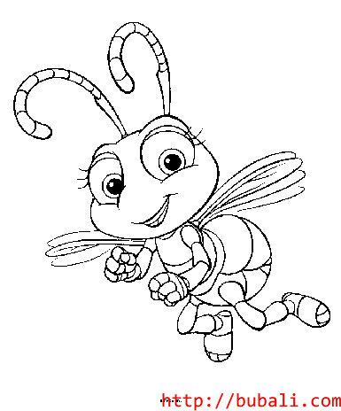 dibujos_para_colorear-bugs007bubali