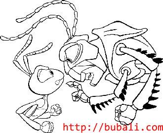 dibujos_para_colorear-bugs010bubali