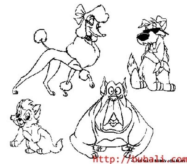 dibujos_para_colorear-ol005bubali