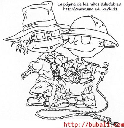 dibujos_para_colorear-Chucktomjonesbubali
