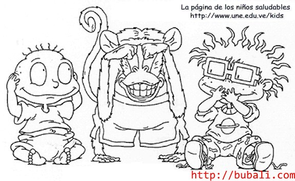 dibujos_para_colorear-Chucktommonkeybubali