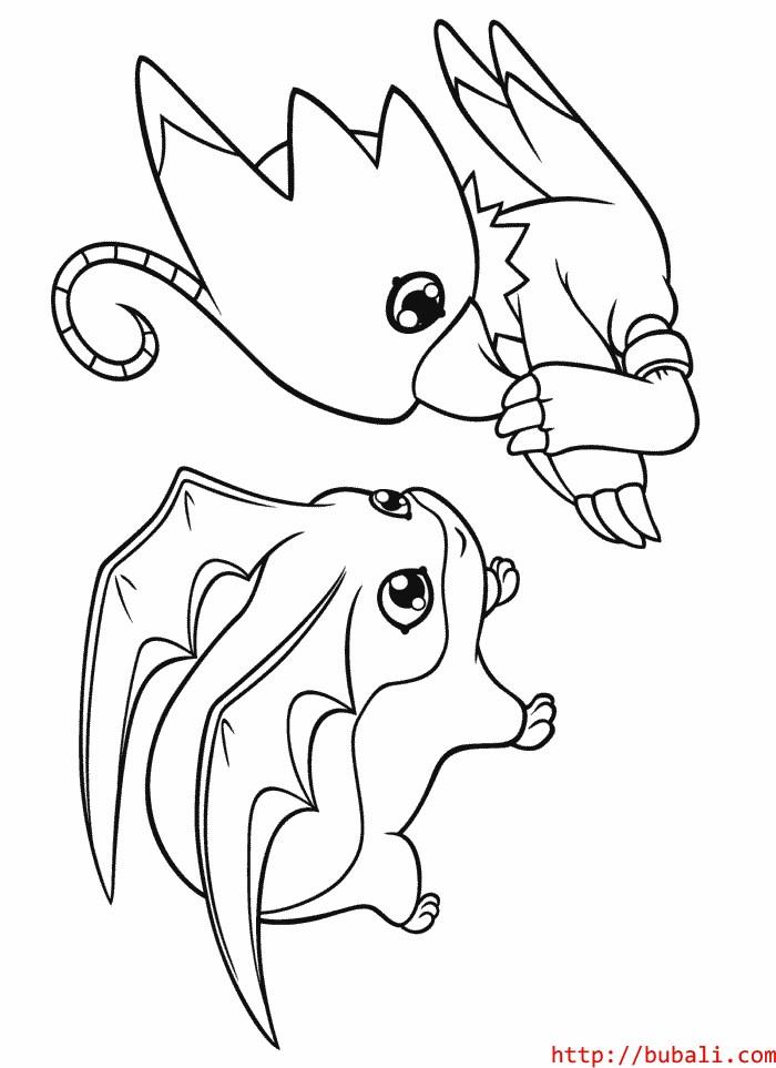 dibujos_para_colorear-6-001bubali
