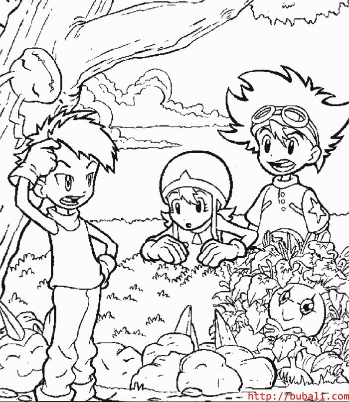 dibujos_para_colorear-7-001bubali