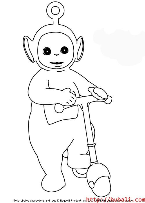 dibujos_para_colorear-poo1bubali