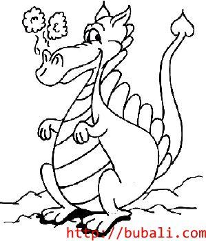 dibujos_para_colorear-dragonbubali